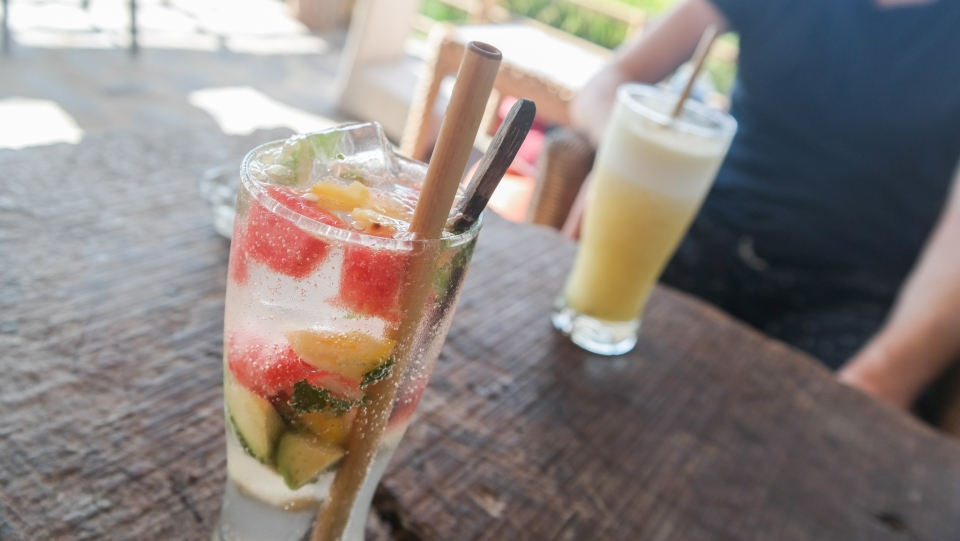 Smoothies in Ubud